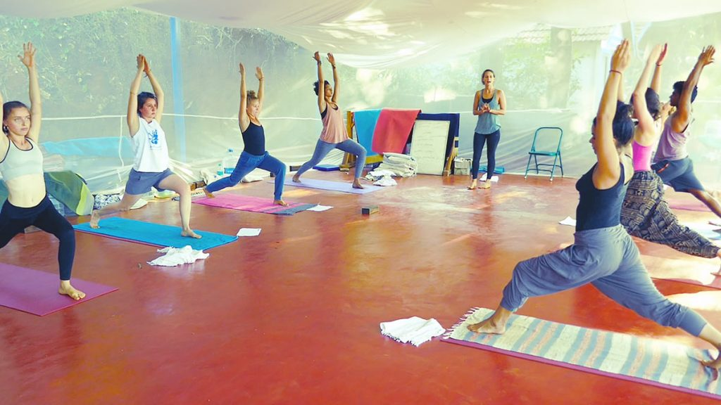 100 Hours Vinyasa and Yin Yoga Teacher Training Courses Accommodation and Food