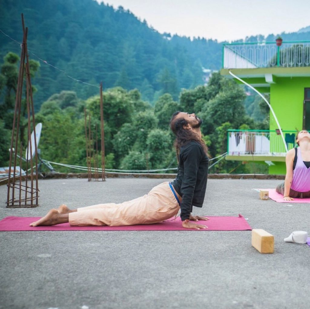 Hari, Urdhva Mukha Svanasana (Upward-Facing Dog Pose)
