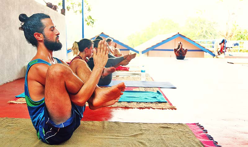 Hatha Yoga classes in Gokarna, India