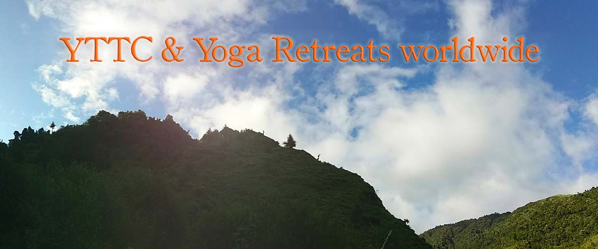 landscape for YTTC and Yoga Retreats Worldwide