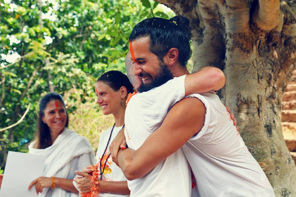 shree hari yoga gives yoga alliance certificate ceremony