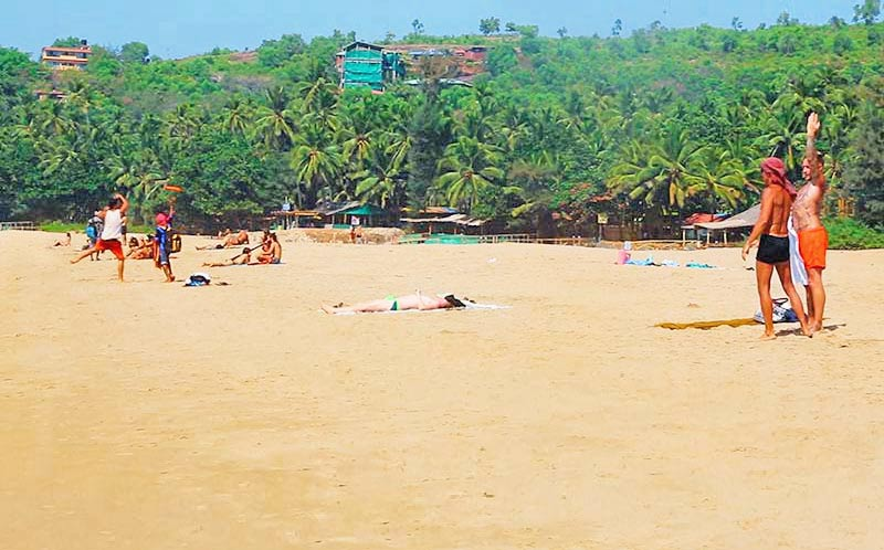 Kudlebeach photo in gokarna, india