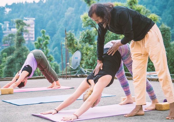 Ashtanga Yoga adjustment class 100 hour yttc