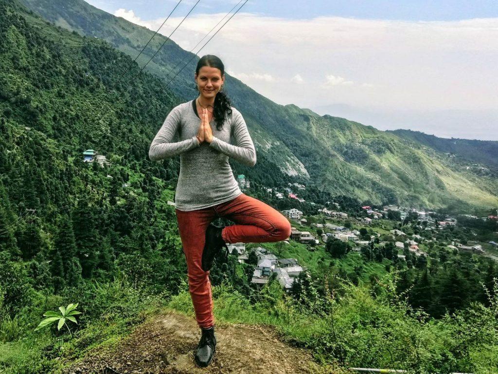 Yoga Asana, treepose, dharamshala, yoga teacher training