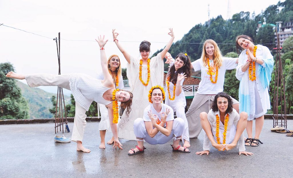 Yoga teacher training in shree hari yoga school in dharamshala, india