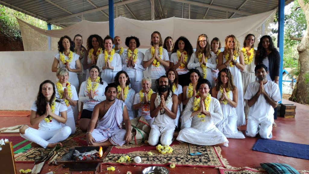 Yoga hall for courses in Gokarna